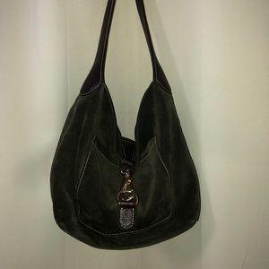 Dooney & Bourke AnnaLisa Lock Sac Hobo Bag.